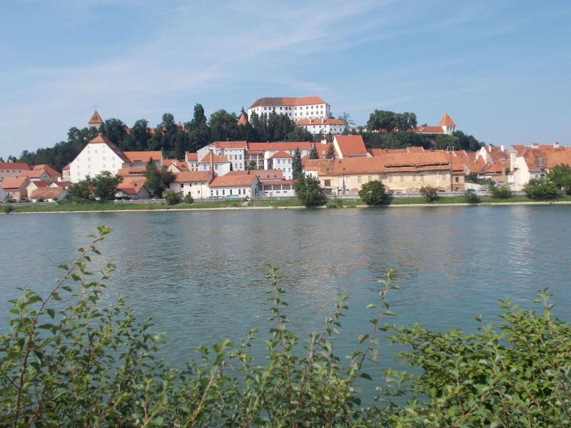 The Drava River - Ptuj