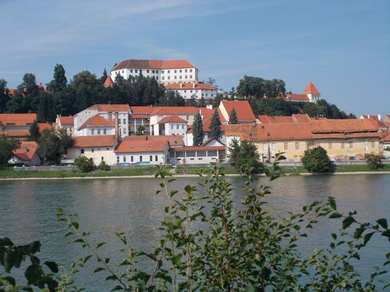 The Drava River - Ptuj