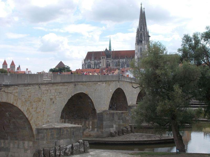 The Old Stone Bridge - Regensburg