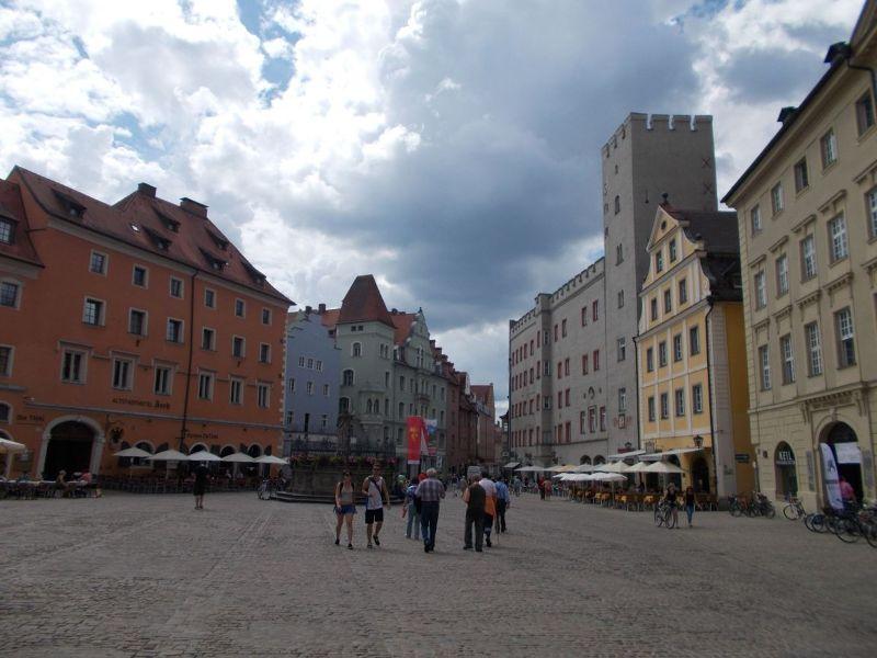 The Haidplatz - Regensburg