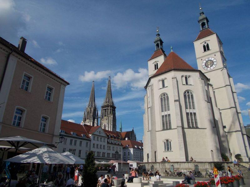 Neupfarr Platz - Regensburg