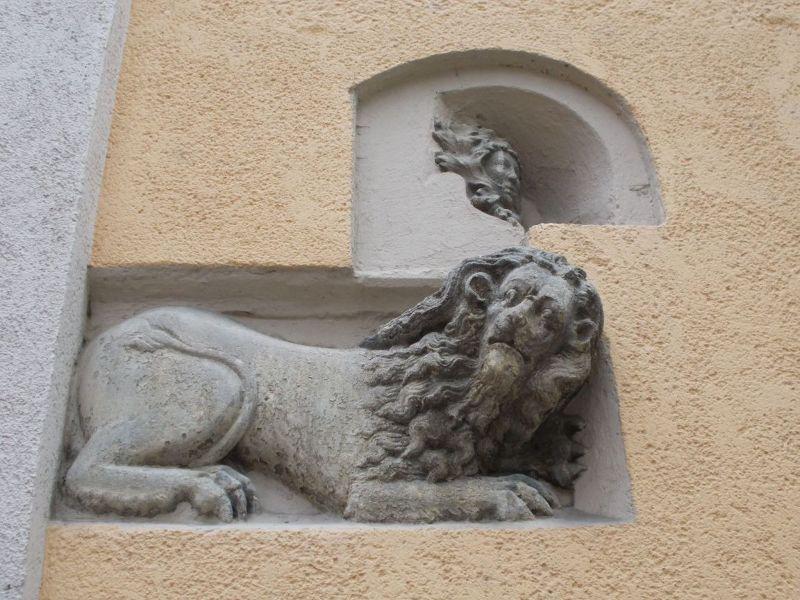 Lion Sculpture - Regensburg