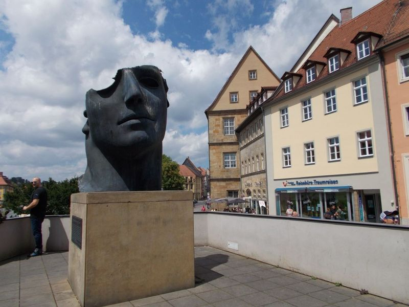 Modern Sculpture in Old Town - Bamberg