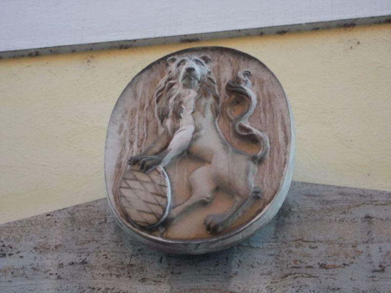 Lion carving, Passau - Passau