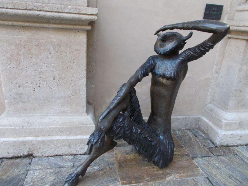 Faun Statue, Landhaus Courtyard. - Graz