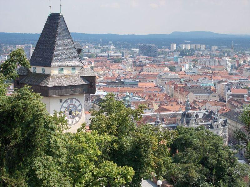 The Clock Tower - Graz