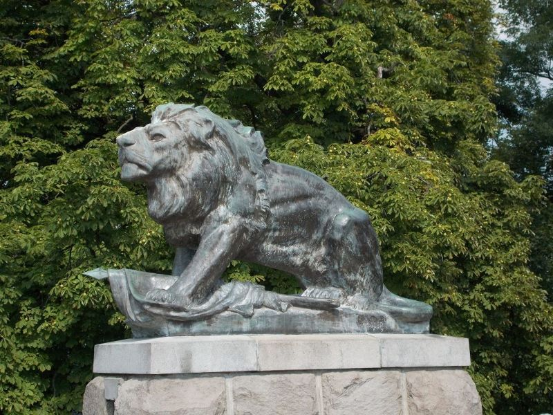 Bronze Lion - Graz