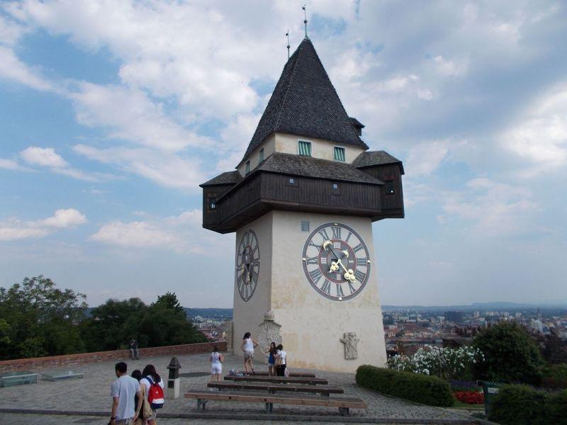 That Clock Tower Again. - Graz