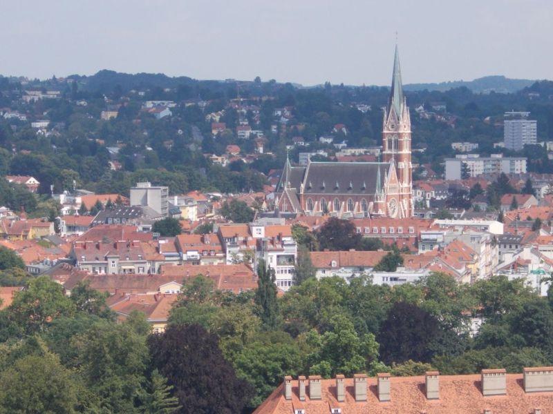 View from Schlossberg - Graz