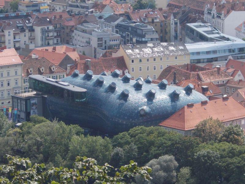Ultra Modern Art Museum - Graz