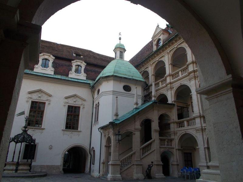 The courtyard - Graz
