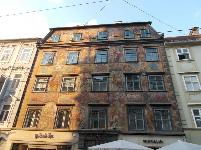 Painted houses - Graz