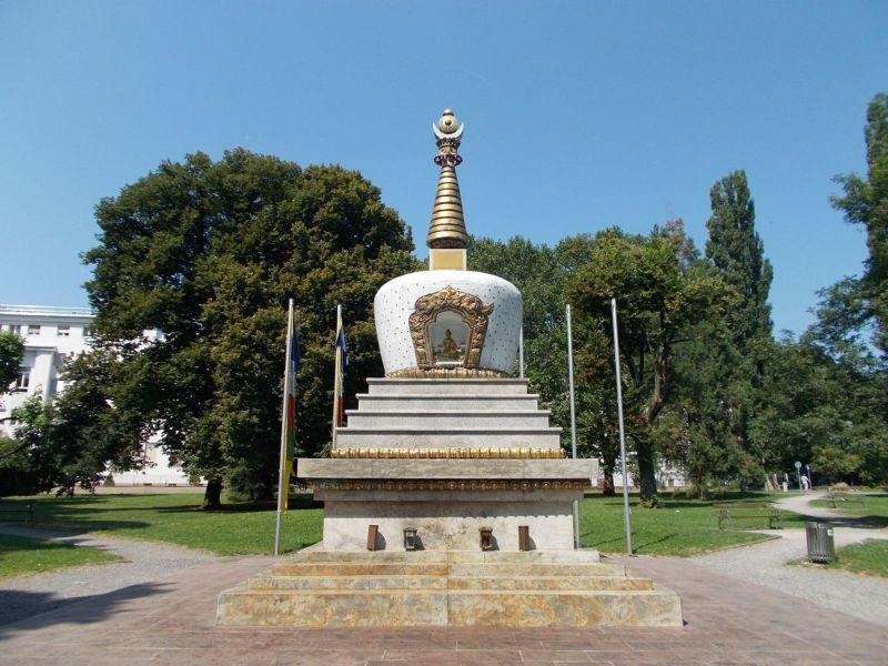 Peace Pagoda, Volksgarten - Graz