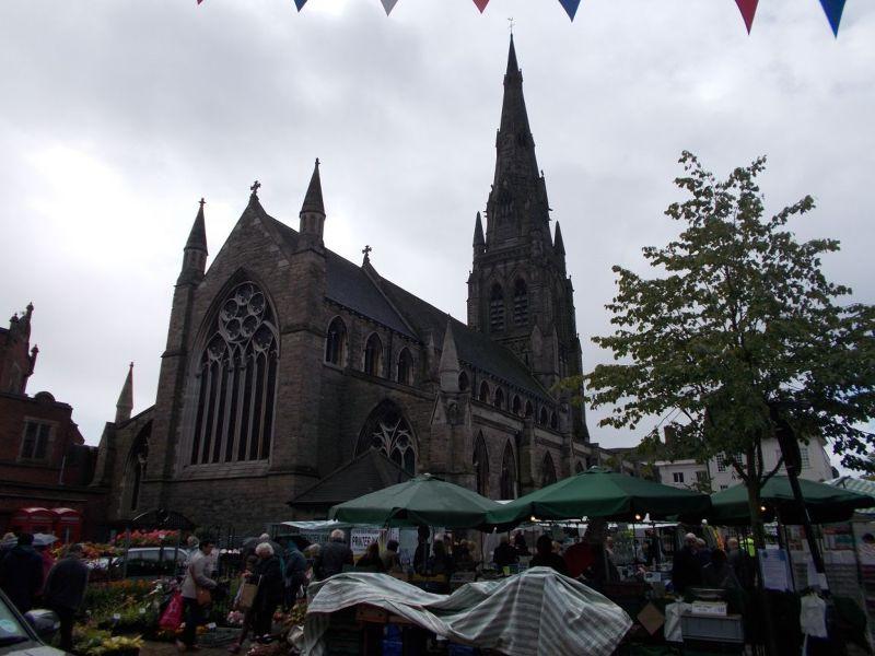St Mary's Church. - Lichfield