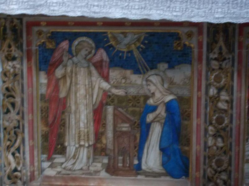The Annunciation. - Lichfield