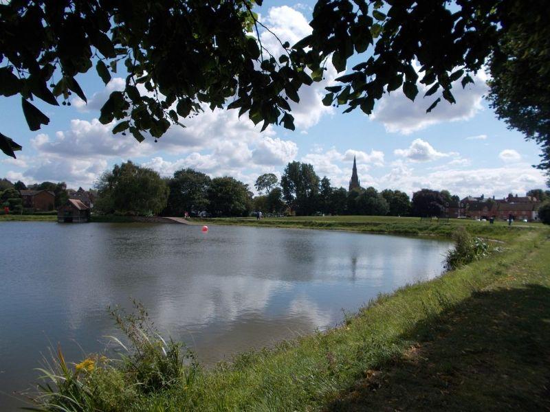 Stowe Pool. - Lichfield