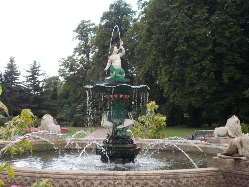 The fountain - Lichfield