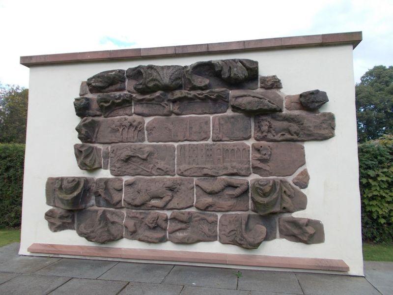 Beacon Park, Martyr's Plaque - Lichfield