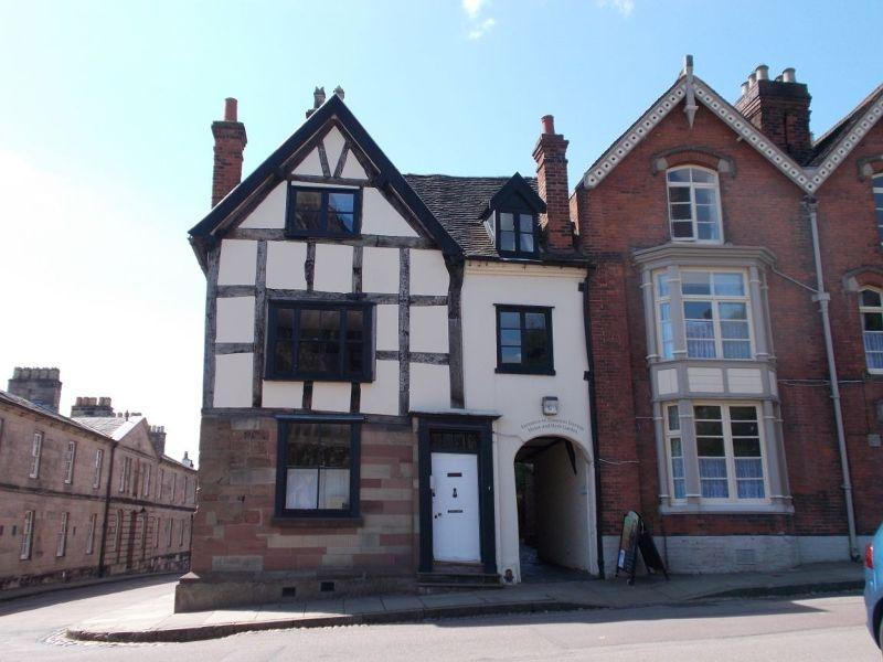 House of Erasmus Darwin. - Lichfield