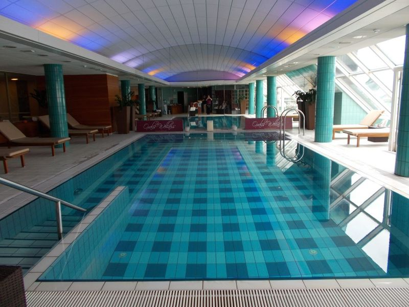 Pool in Grand Union Hotel - Ljubljana