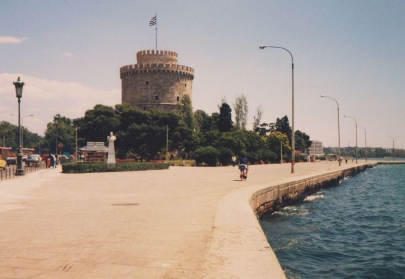 The White Tower, Thessaloniki. - Greece