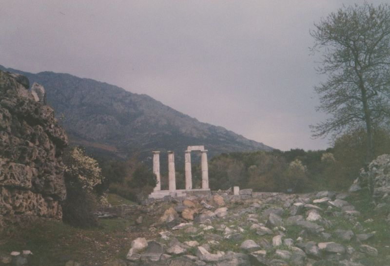 Palaiopoli, Samothrace. - Greece