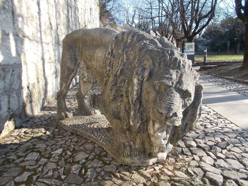 Brescia Castle - Sculptures