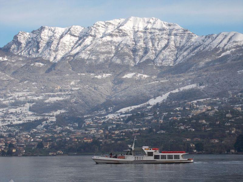 Ferry on Lago d'Iseo. - Lago d' Iseo