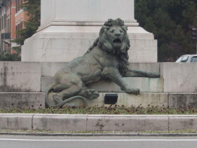 Monument to Garibaldi.