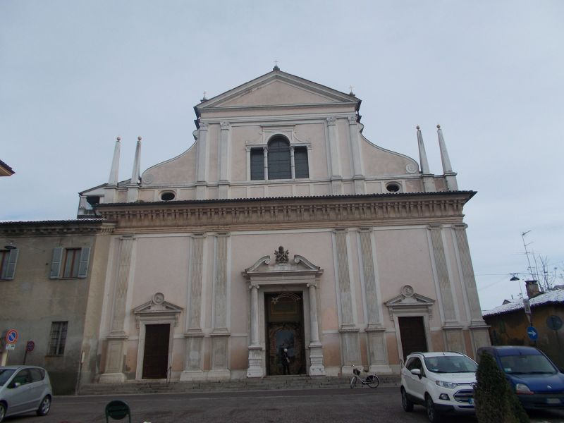 The Church Of San Pietro Al Po