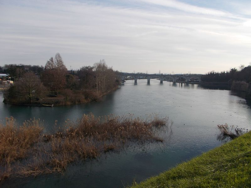 The Mincio River - Lago di Garda