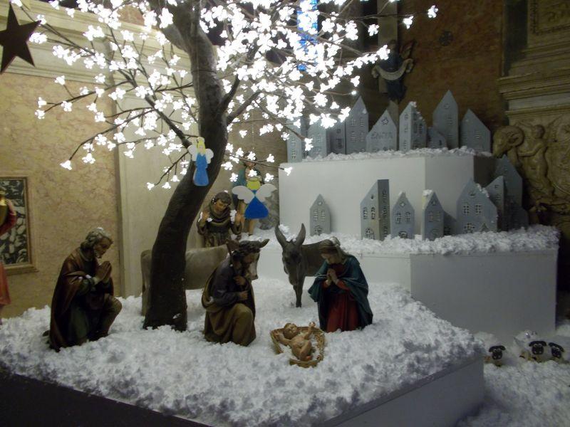 Cathedral Nativity Scene. - Verona
