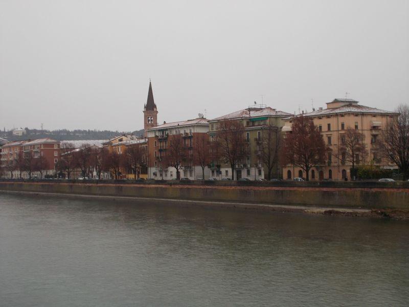 The Adige River. - Verona