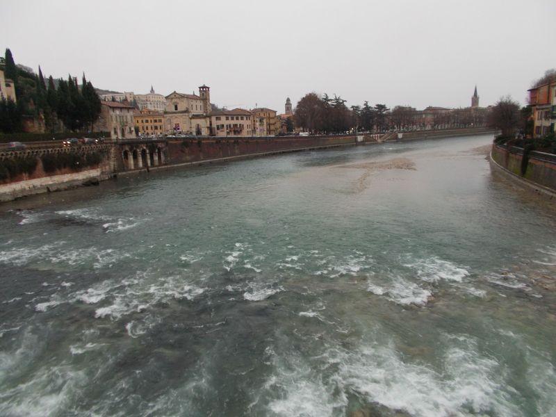 View from Ponte Pietra - Verona