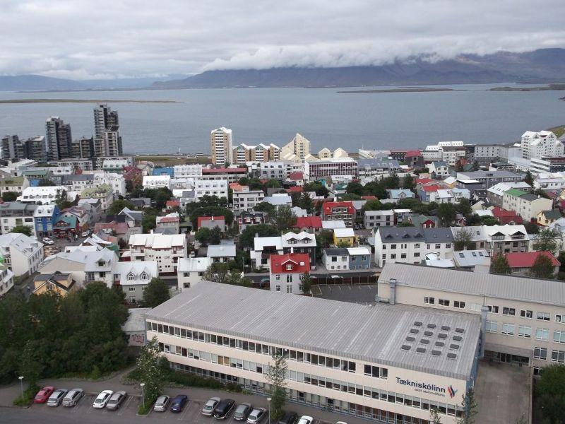 View from Hallgrimur's Church - Reykjavík