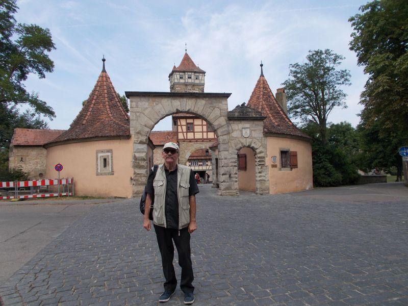 -  Entrance Gate Rothenburg ob der Tauber
