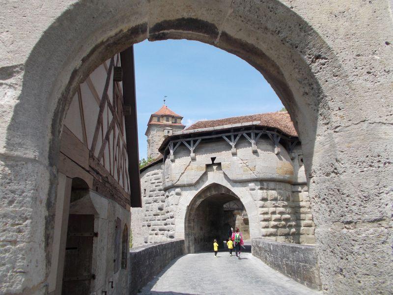 Gates and Walls - Rothenburg ob der Tauber