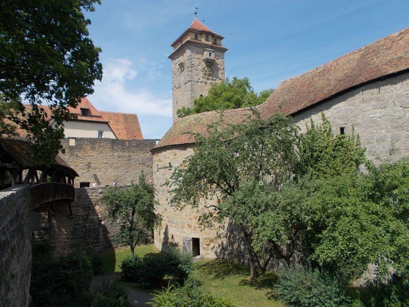 walls andTowers- Rothenburg ob der Tauber