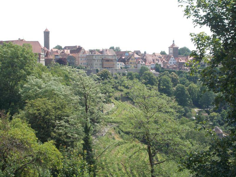 Burgarten- Rothenburg ob der Tauber