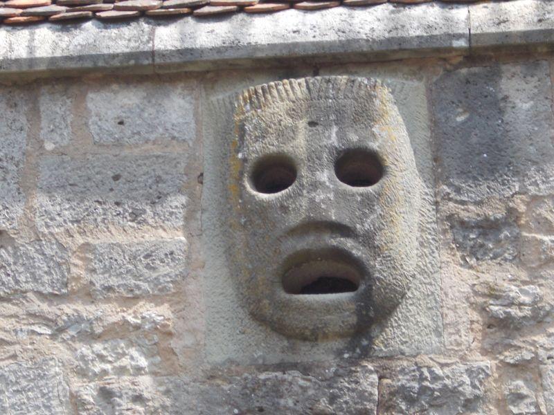 The Mask  Burg Gate- Rothenburg ob der Tauber