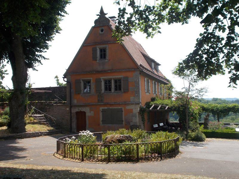 Burg Garten - Rothenburg ob der Tauber
