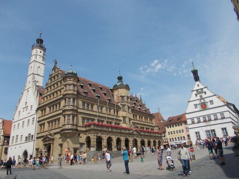 Marktplatz- Rothenburg ob der Tauber