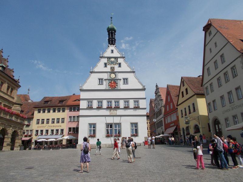 Marktplatz - Rothenburg ob der Tauber