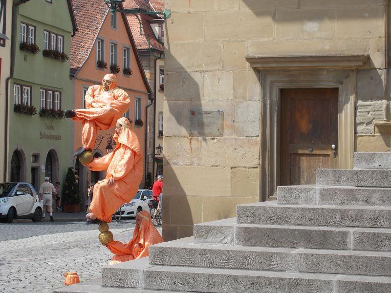 Balancing Act - Rothenburg ob der Tauber