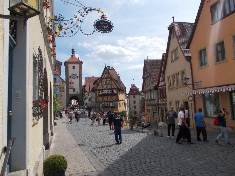 Plonlein Triangular Place - Rothenburg ob der Tauber