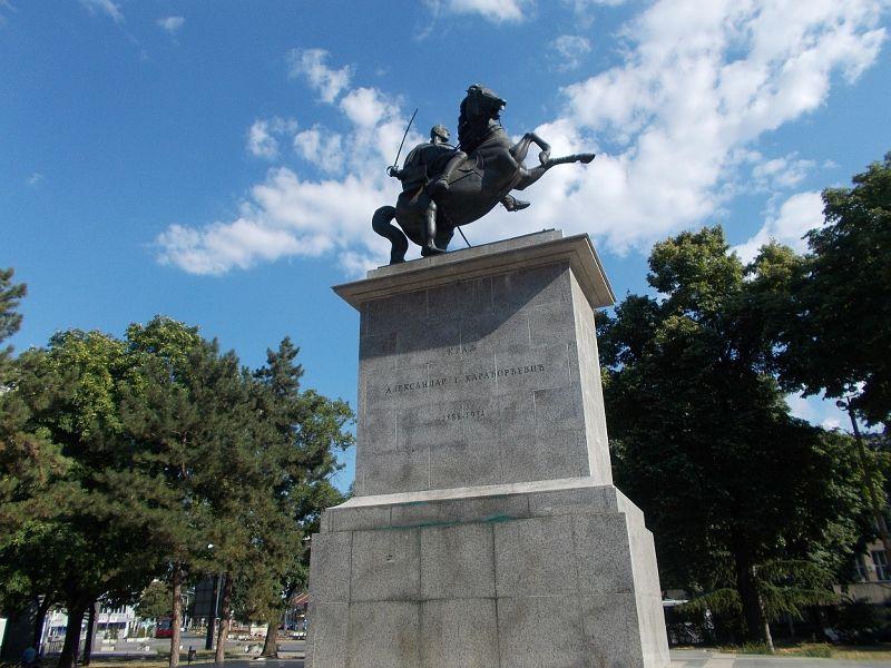 King Aleksander Monument