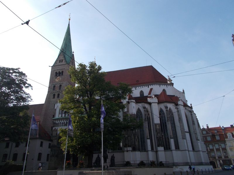 The Cathedral of Augsburg - Augsburg