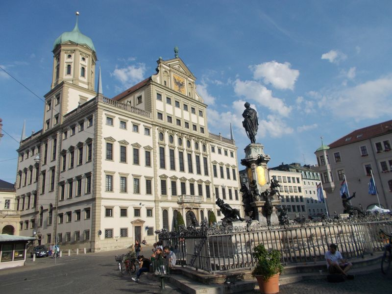 Town Hall Square Revisited - Augsburg
