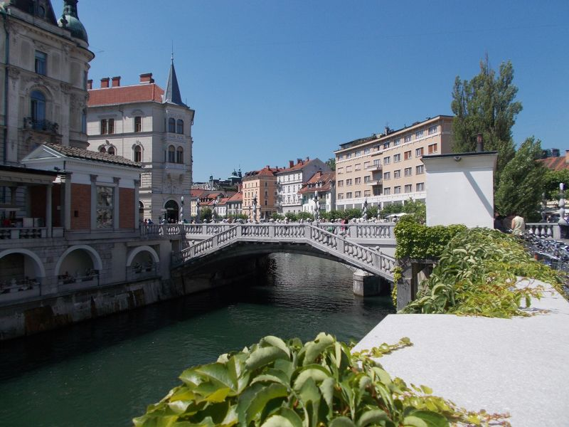 Triple Bridge - Ljubljana