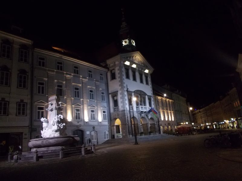 Llubljana At Night